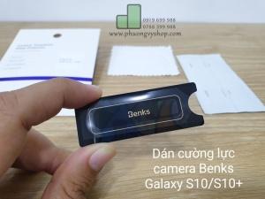 Dán cường lực camera BENKS Galaxy S10 Plus